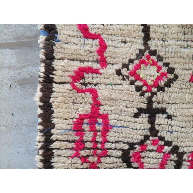 Pink Atlas' Moroccan Azilal Rug - 4′2″ × 8′10″ - Image 4 of 5
