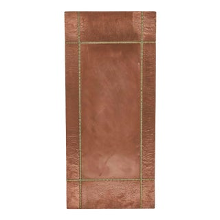 Midcentury Copper And Brass Panel From France For Sale