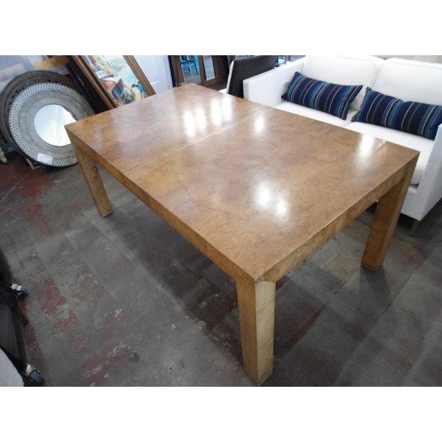 Milo Baughman Parson Dining Table - Image 5 of 9