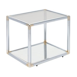 French Modernist Side Table For Sale