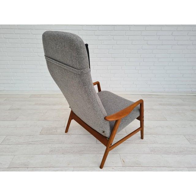 Danish Design by Alf Svensson, Model Kontour, 70s, Completely Renovated-Reupholstered For Sale - Image 6 of 13