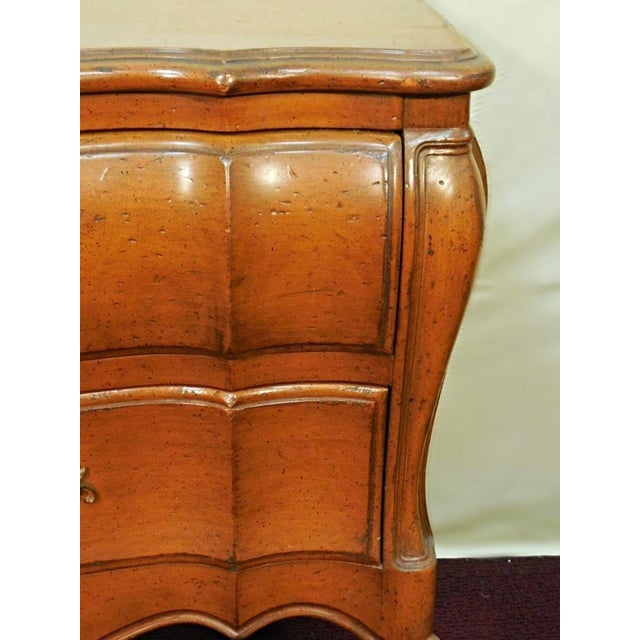 Louis XV French Provincial Nightstands- A Pair For Sale - Image 4 of 9