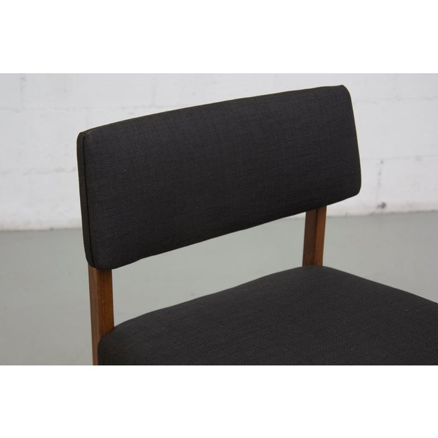 Masculine Danish Mid-Century Dining Chairs - 6 - Image 8 of 11