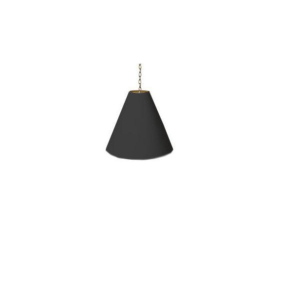 Barbara Cosgrove Cone Shade Pendant Lighting Color: Black The Shade dimensions are: Gloss Finish on Painted Parchment...