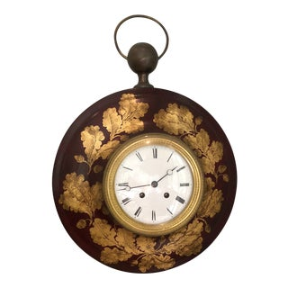 Antique French Tole Clock