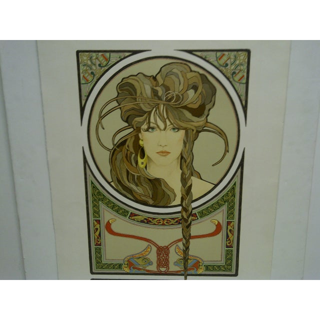 "Americana ""Boudicca"" Signed Print For Sale - Image 3 of 6"