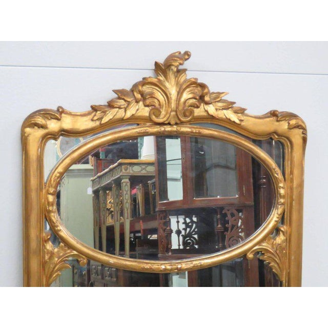 Traditional Friedman Brothers Victorian Style Hall Mirror For Sale - Image 3 of 8