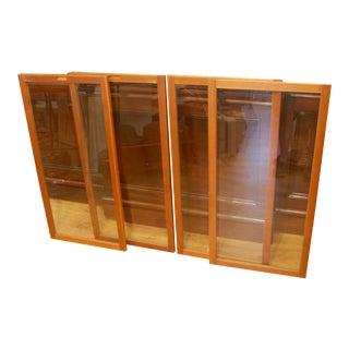 1950s Mid-Century Hand Crafted Storm Windows - Set of 4 For Sale