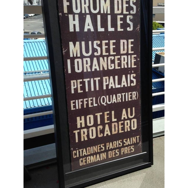 French Train Sign - Image 5 of 7