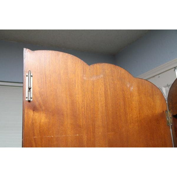 Vintage Wooden Armoire - Image 7 of 11