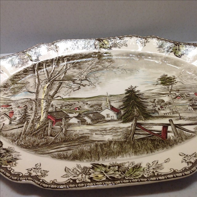 English Platters by Johnson Bros - Set of 2 - Image 6 of 10