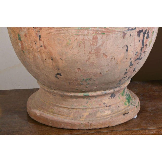 Ceramic Pair of Large 18th Century Anduze Jars For Sale - Image 7 of 11