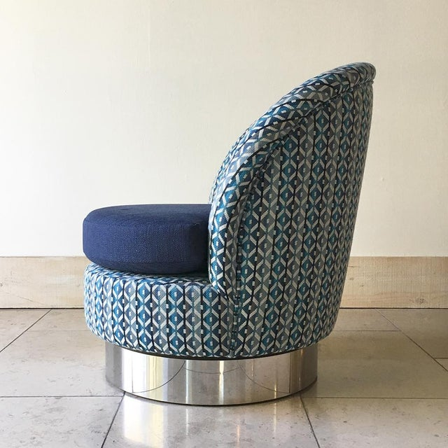 Mid-Century Modern Talisman Swivel Chairs by Talisman Bespoke For Sale - Image 3 of 7