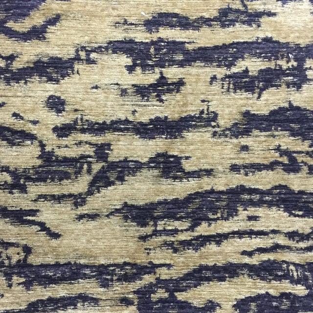 Schumacher Fabric Folding Safari Chair For Sale - Image 5 of 7
