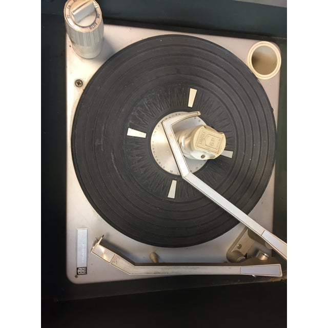 Mid Century Modern Magnavox Console Record Player For Sale - Image 10 of 11