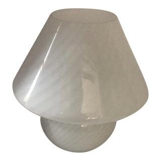 Vetri Murano Swirl Mushroom Lamp