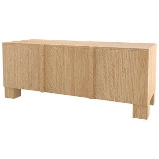 Contemporary 101 Sideboard in Oak by Orphan Work, 2019 For Sale