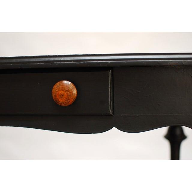 Black Antique Ladies Writing Desk - Image 3 of 7