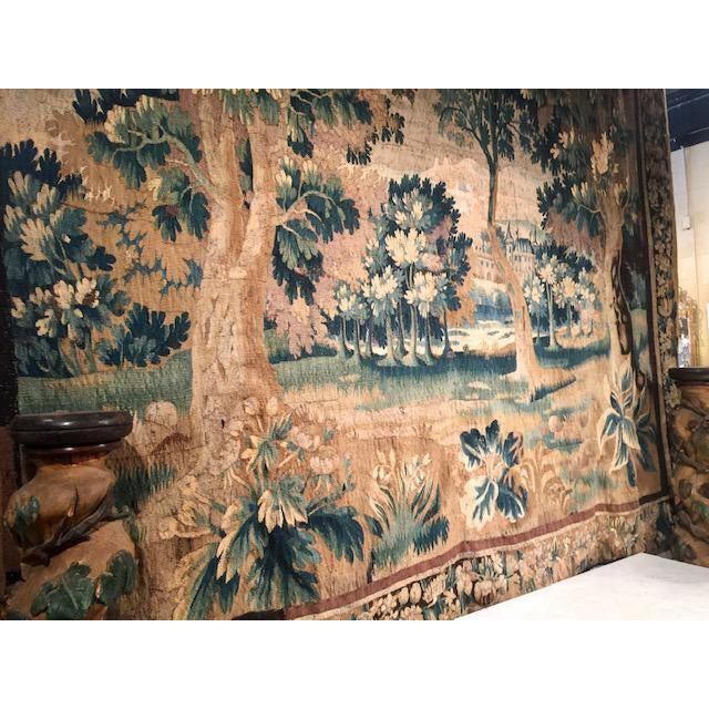 18th Century Circa 1760 Aubusson Tapestry For Sale - Image 5 of 10