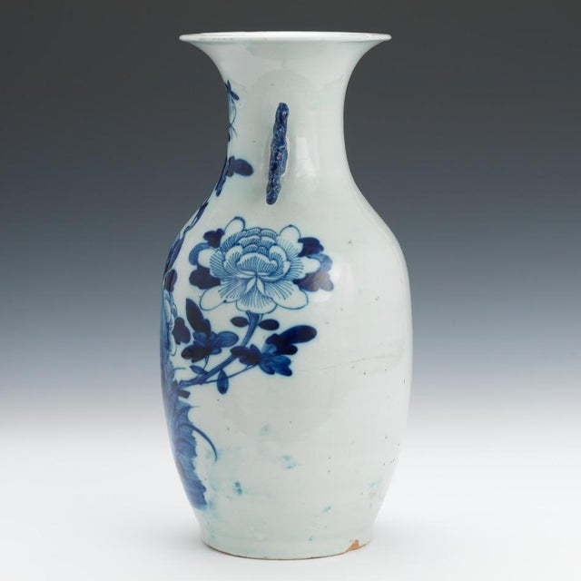 "Blue & White 16"" Chinese Porcelain Vase - Image 3 of 6"