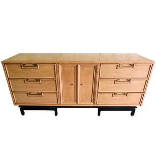 Hollywood Regency Nine-Drawer Dresser by American of Martinsville For Sale