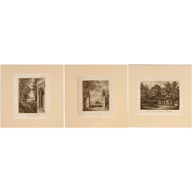 Strawberry Hill Engraving - Set of 3 - Image 1 of 4