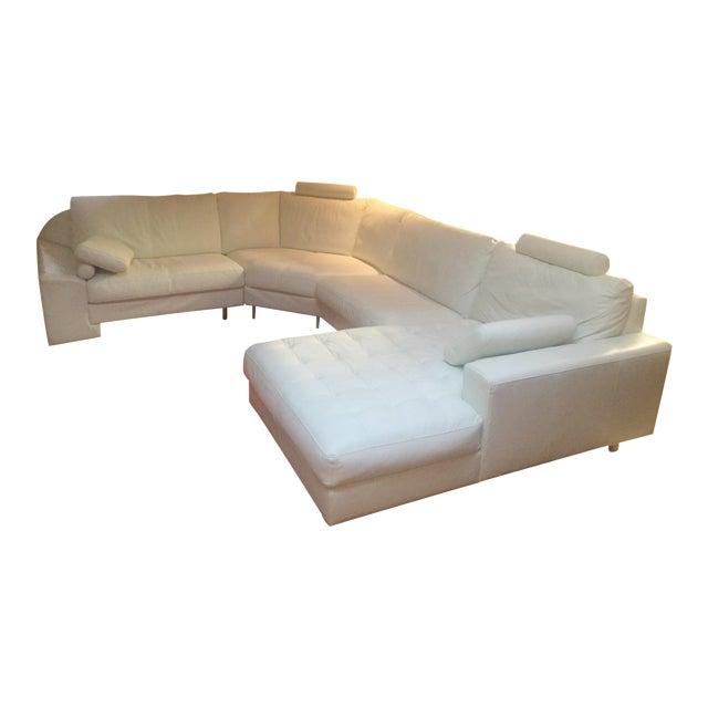 Denelli Italia White Modular Sofa - Image 1 of 6