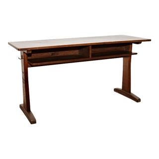 1960s Mid-Century Casala Children's School Desk in Wood, Carl Sasse For Sale