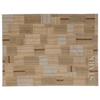 Stark Studio Rugs Traditional Turkish Kilim Wool Rug - 7′5″ × 10′ For Sale