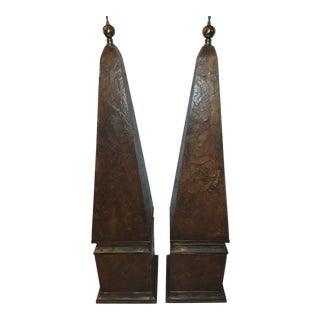 Vintage Hart & Associates Obelisks - a Pair For Sale