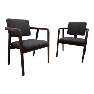 1960s George Nelson for Herman Miller Dining Chairs - a Pair For Sale