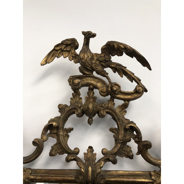 18th Century English Chippendale Chinoiserie Style Wall Mirror For Sale - Image 4 of 13
