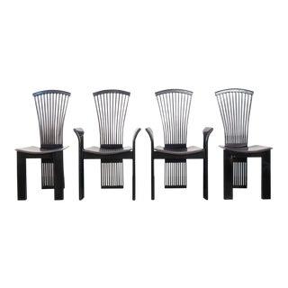 1970s Vintage Pietro Costantini Italian Dining Chairs - Set of 4