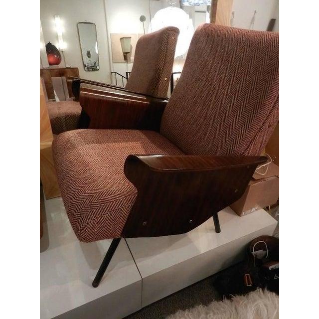 Mid-Century Osvaldo Borsani Model D72 Club Chair For Sale - Image 10 of 10