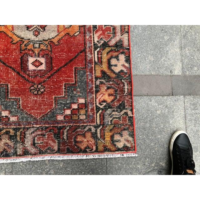 1960s Vintage Turkish Runner Rug - 2′11″ × 9′8″ For Sale - Image 9 of 10
