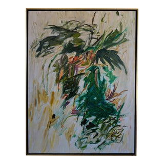 Laurie MacMillan Botanical Abstract Painting For Sale