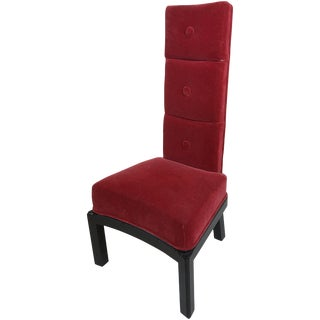 James Mont High Back Chair For Sale