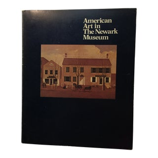1981 American Art in the Newark Museum Book For Sale