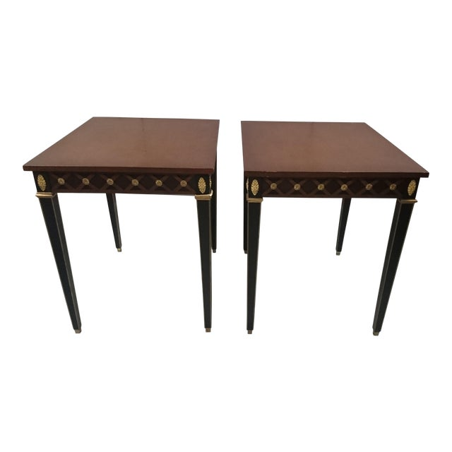 Trouvailles Boughton Tables - A Pair For Sale