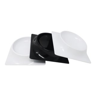 Set of Three P65 Dishes by Sergio Asti for Mebel For Sale