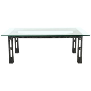 1950s Art Deco James Mont Dining Table For Sale