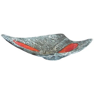 Vallauris Textured Ceramic Bowl For Sale