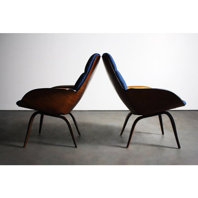 George Mulhauser for Plycraft Lounge Chairs - Pair - Image 9 of 11