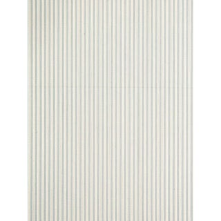 Sample, Scalamandre Kent Stripe Jacquard, Pearl Grey For Sale