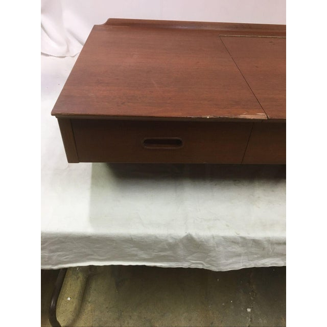Vintage Danish Mid-Century Floating Wall Desk by George Tanier for Sibast Mobler For Sale In Washington DC - Image 6 of 13