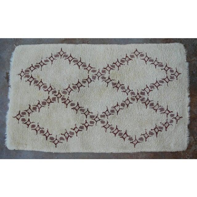 Vintage Moroccan Wool Rug - 3′2″ × 5′ - Image 2 of 3