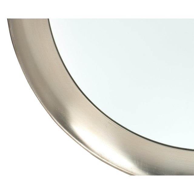 Vintage French Mid-Century Mirror For Sale - Image 9 of 11
