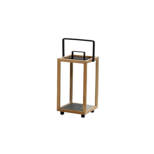Not Yet Made - Made To Order Cane-Line Lighthouse Lantern, Small, Teak and Lava Gray For Sale - Image 5 of 5