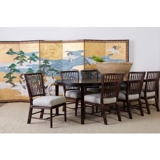 Japanese Six Panel Screen of Cranes by the Sea Preview