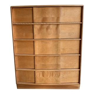Vintage Higboy Dresser by Heywood Wakefield For Sale